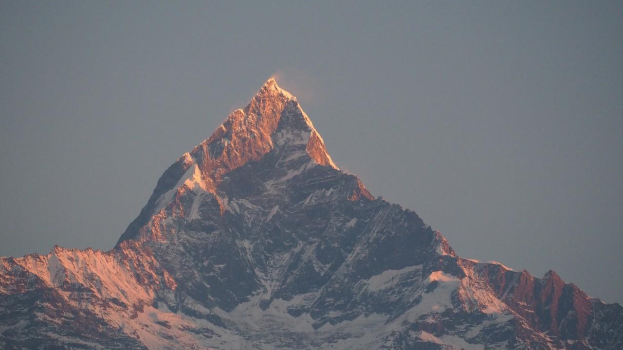 City  to glimpse of mountain