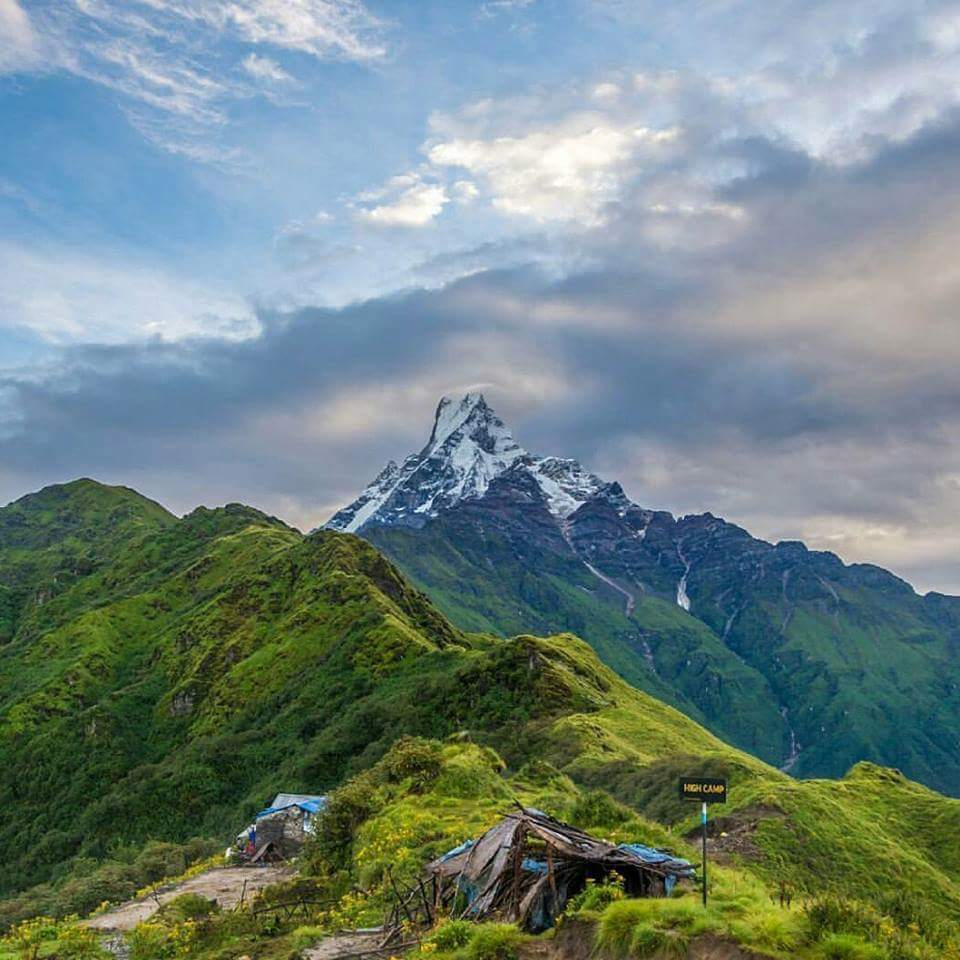 Mardi Himal: High Camp